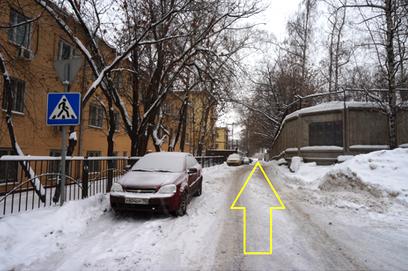 схема проезда к пункту самовывоза